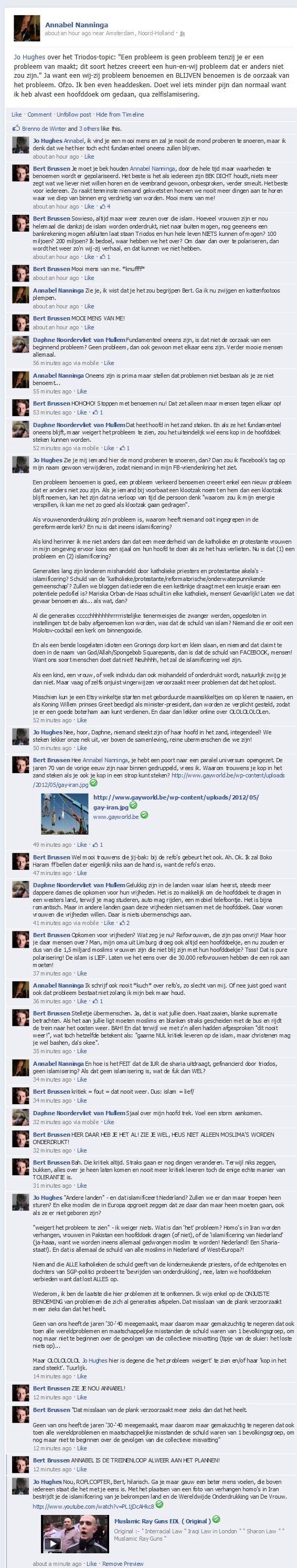 [NL] Je wilde me taggen op Facebook om me 'te kijk' te zetten? Prima, deel ik 't even voor je verder, kunnen nog meer mensen het zien...
